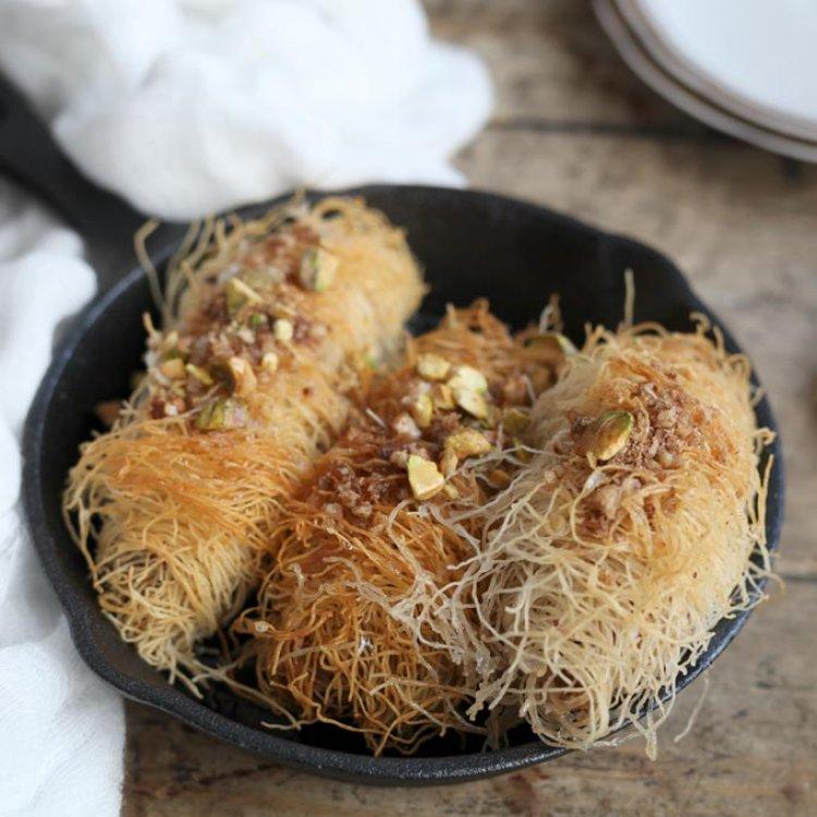 Кадаиф с орехови ядки