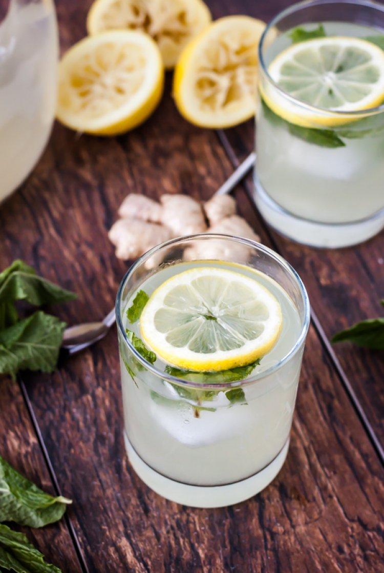 Домашен сок от лимони